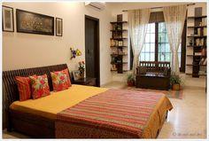 Eclectic Indian bedroom