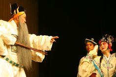 Sichuan Opera Qixinggang Chuanjuyuan Chongqing China David McBride Photography Yi He Qiao 12 23 2006  0037