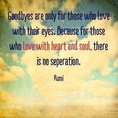 No separation - Rumi xx