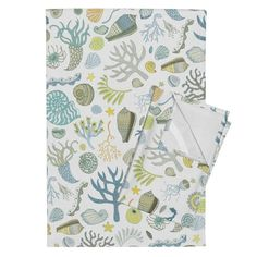 Orpington Tea Towels featuring Natural Forms - Large by cecca | Roostery Home Decor