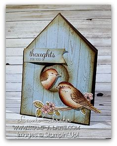 Good Afternoon – welcome to another week of Freshly Brewed Projects from the Latte Girls! This week our theme is – Feathers or Feathered Friends. Thinking about this theme draws me imme…
