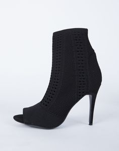 f0093bfd98465 Knitted Sock Boots