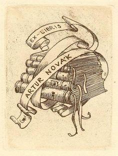 ex libris of arthur Novak
