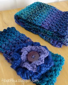 The Tweedy Puff Stitch Ear Warmer is a warm and wonderful project topped off with a fabulous flower! It is the companion to the Tweedy ...