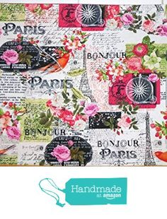 5pc Placemat and Table Runner Set, Parisian Spring Theme from ColdStreamCrafts http://www.amazon.com/dp/B017WU2B8E/ref=hnd_sw_r_pi_dp_jbsrwb1NWZSAC #handmadeatamazon