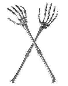 #Skeleton #saladservers at #Target for $11.99 sarah you guys are in need @sa