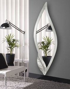 4 Motivated Clever Tips: Wooden Wall Mirror Interior Design wall mirror entrance floors.Wall Mirror Interior Gray living room wall mirror entry ways. Rustic Wall Mirrors, Cool Mirrors, Round Wall Mirror, Mirror Shelves, Wall Mirror Ideas, Mirror Art, Mirror Bathroom, Mirror Collage, Decorative Mirrors