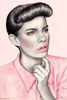 Hanna Muller on Fashionaryhand