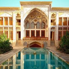 Mahin Saraye Raheb house,Kashan   - Explore the World with Travel Nerd Nici, one Country at a Time. http://TravelNerdNici.com