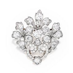 Tiffany Edwardian Diamond Brooch - Category:Edwardian images - AJU
