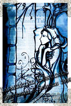 A Winter's Tale, Shakespeare Postcard by Immortal Longings by immortallongings, via Flickr