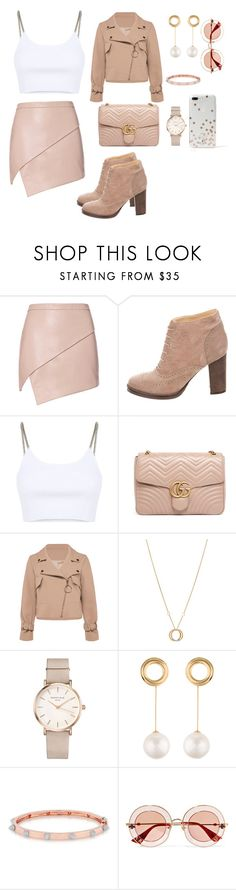 """Untitled #1"" by chantelsiyaya ❤ liked on Polyvore featuring Michelle Mason, Brunello Cucinelli, Alexander Wang, Gucci, Charriol, ROSEFIELD, Joanna Laura Constantine, Anne Sisteron and Kate Spade"