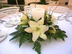 Centros de mesa de lilis