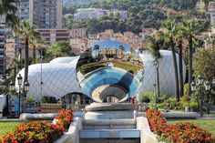 The mirrored ball, Monaco.