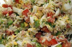 L'essayer, c'est l'adopter! Best Rice Salad Recipe, Rice Salad Recipes, Easy Smoothie Recipes, Healthy Salad Recipes, Healthy Smoothie, Caprese Salat, Food Shows, Easy Salads, Entrees