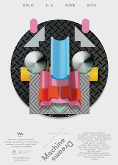 Only Connect Festival of Sound: Machine Dreams by Non-Format, via Behance
