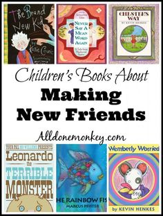 Back to School: Children's Books About Making New Friends from @alldonemonkey