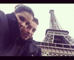 Di Ferrero e Mariana Rios em Paris