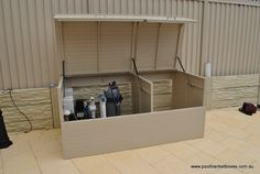pool pump enclosure box | Powder Coated Aluminium