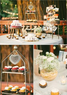 dessert table with Nothing Bundt Cakes