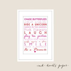 Chase Butterflies Print