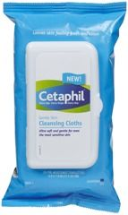 Cetaphil Gentle Skin Cleansing Cloths, no rinsing needed