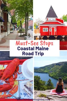 Are you looking to take a road trip down the coast of Maine? Check out my Coastal Maine Road trip guide where I tell you the best places to stay, eat & see. Maine Road Trip, East Coast Road Trip, Road Trip Usa, Dream Vacations, Vacation Trips, Vacation Spots, Italy Vacation, Family Vacations, Cruise Vacation