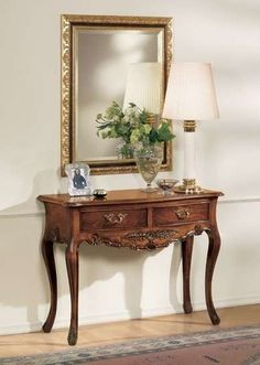 Classic style entrance - Decoration for All Foyer Furniture, Entryway Decor, Furniture Design, Living Room Bookcase, Home Living Room, Classic Home Furniture, Dressing Table Design, Entrance Table, Diy Home Decor On A Budget