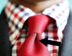 covinha da gravata