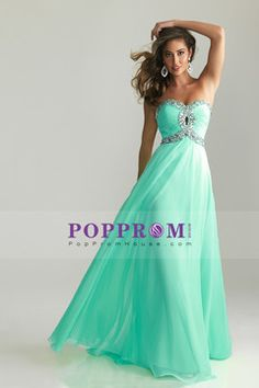 Best Selling Prom Dresses A-Line Sweetheart Floor-Length Chiffon With Beadings AUD 197.21 PPHPT1XEJAC - PopPromHouse.com