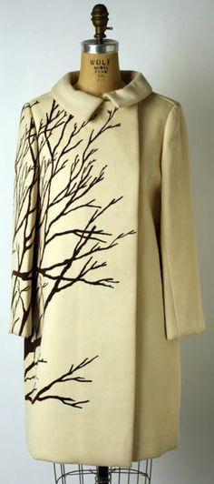 Maurice Rentner coat ca. 1967 via The Costume Institute of The Metropolitan Museum of Art