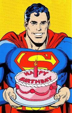 "101 Happy Birthday Memes - ""Happy Birthday from Superman. Superman Happy Birthday, Funny Happy Birthday Wishes, Happy Birthday Pictures, Happy Birthday Sister, Birthday Love, Happy Birthday Greetings, Birthday Memes, 13th Birthday, Birthday Pins"
