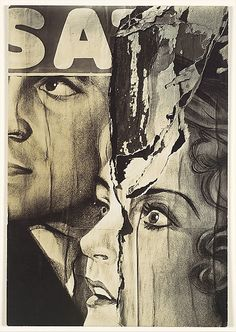 Walker Evans. Torn Movie Poster, 1931