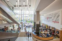 The lovely new Rosebank Mall Shopping Malls, South Africa, Tourism, Buildings, Turismo, Shopping Mall, Vacations