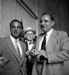 Roy Cohn and Joe McCarthy by Eve Arnold