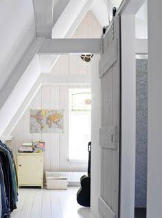 zolder deur eruit schuifdeur erin more zolder deur schuifdeuren zolder ...
