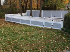 cheap pvc fence panels importer in Canada Calgary #eco #Low-Carbon #fashion #garden #fencing #beautiful