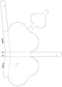 bo te papillon en papier jouonsensemble templates formes imprimer pinterest. Black Bedroom Furniture Sets. Home Design Ideas