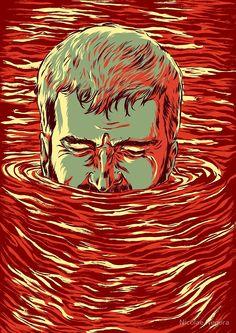 I am sinking here by Nicolae Negura
