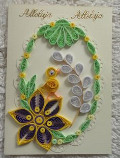 Arte Quilling, Quilling Craft, Quilling Patterns, Quilling Designs, Paper Quilling, Cute Crafts, Diy And Crafts, Crafts For Kids, Paper Crafts