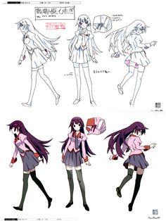Bakemonogatari Production Note Art Book - Anime Books