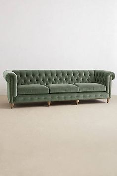 Grand Lyre Chesterfield Sofa
