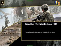 Service Seeks Private Dialogue With Companies     https://rosecoveredglasses.wordpress.com/2017/03/15/army-small-business-find-forumand-capabilities-information-exchange/