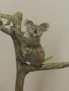 OOAK Koala Bear & Baby By IGMA Artisan Teresa Summers