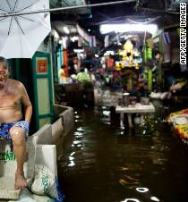 Photos: Heavy flooding in Thailand.