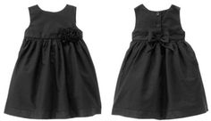 NEW NWT Gymboree BELLES AND BOWTIES holiday dress black sparkle baby girl 12-18  #Gymboree #DressyHolidayPageantWedding