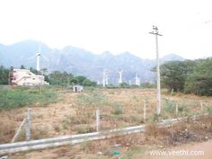 Windmills at Aralvaimozhi town in Kanyakumari district