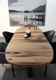 Dinning Table, Dining Room, Wood Paneling, Home Organization, Office Furniture, Future House, New Homes, Interior, Modern