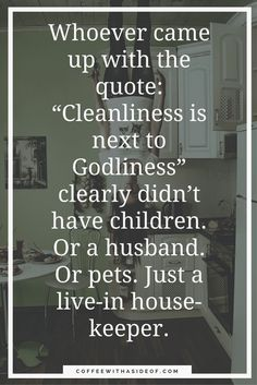mom humor, mom guide, messy house, cleanliness, reality