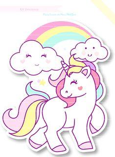 Imagen relacionada Unicorn Drawing, Unicorn Art, Cute Unicorn, Baby Unicorn, Unicorn Birthday Invitations, Unicorn Birthday Parties, Disney Drawings, Cute Drawings, Theme Mickey
